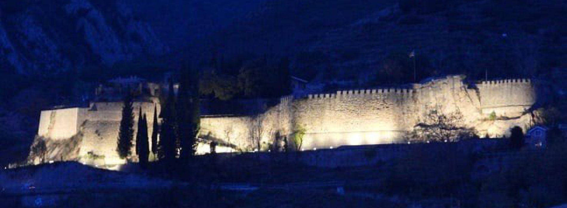Il·luminació nit Castell Berga